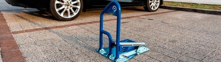 Cepo guardaplazas de parking automático